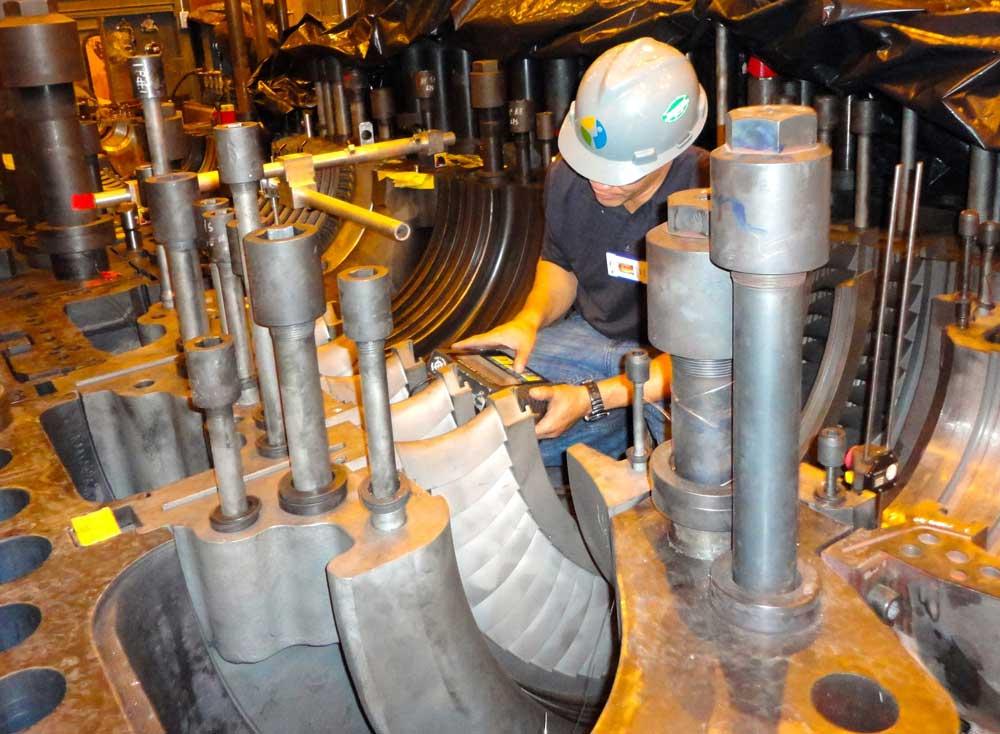 Mitsubishi Steam Turbine Alignment
