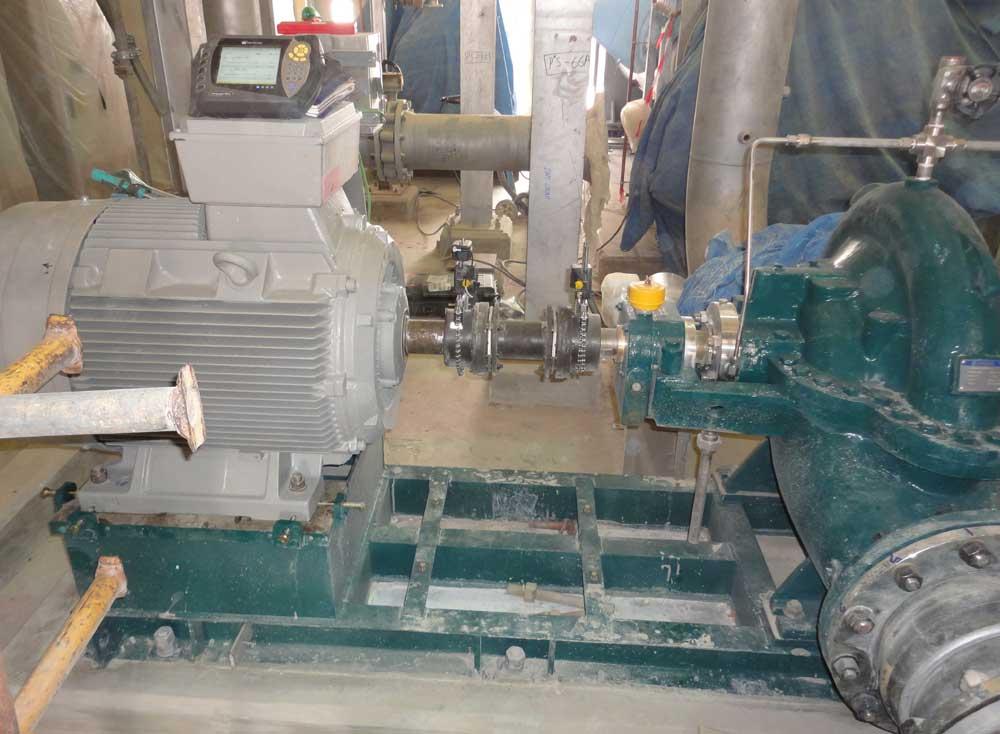 Pump motor shaft alignment tools for Pump motor shaft alignment tools