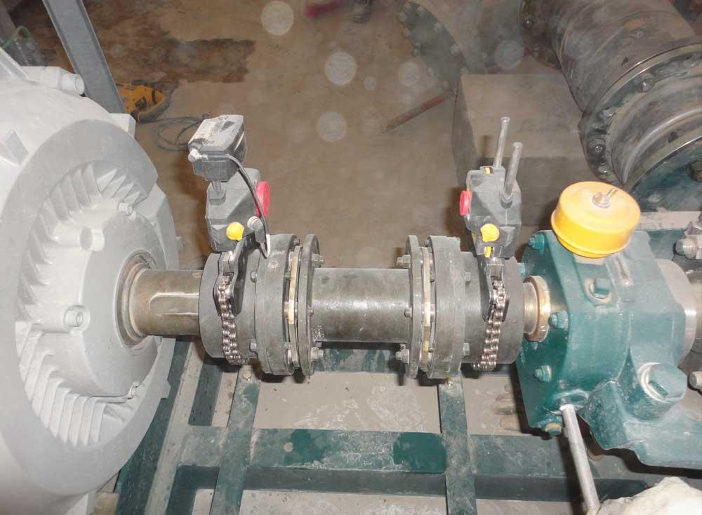 saudi aramco motor pump shaft alignment