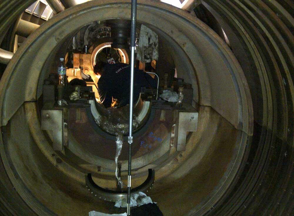 Gas Turbine Internal Alignment GE Frame 7 Saudi Electrical