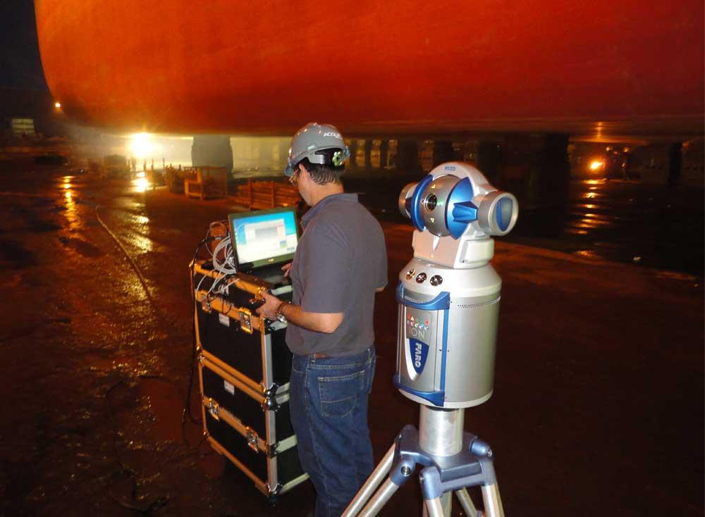 Tanker Hull Metrology Service