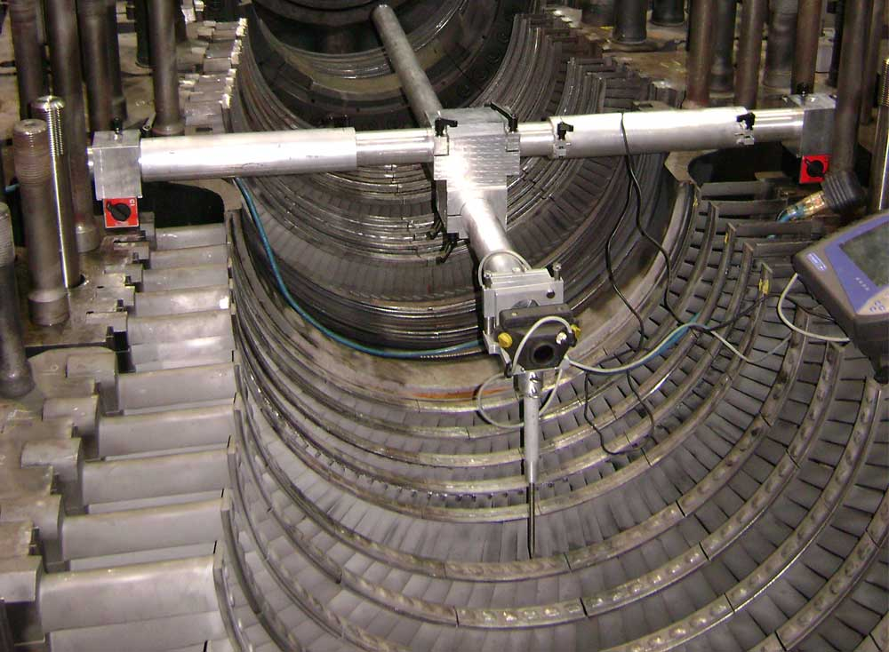 Express internal Turbine Alignment