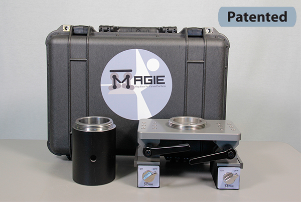 Magie Magnetic Base for Curved Surfaces