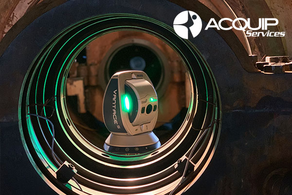 laser tracker gas turbine alignment